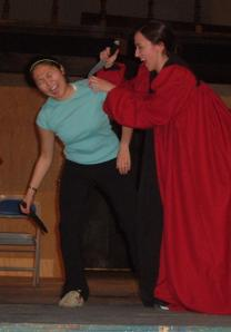 I was fight coach for Julius Caesar and my BFF was Cassius. aaamaaazinggggg.